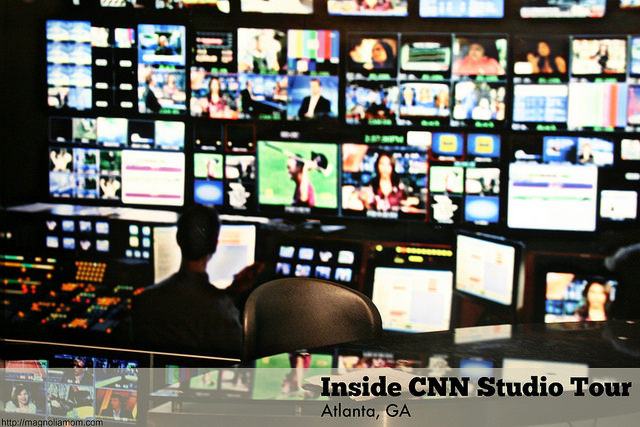 Inside CNN Studio Tour - Atlanta, GA