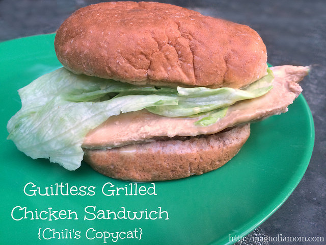 Guiltless Grilled Chicken (by Magnolia Mom)