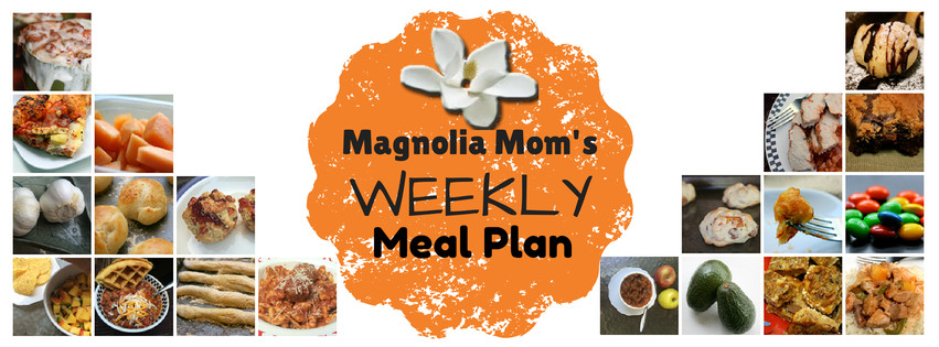 Get some great recipe inspiration from Magnolia Mom's Weekly Meal Plan {Sept. 15-19, 2014}
