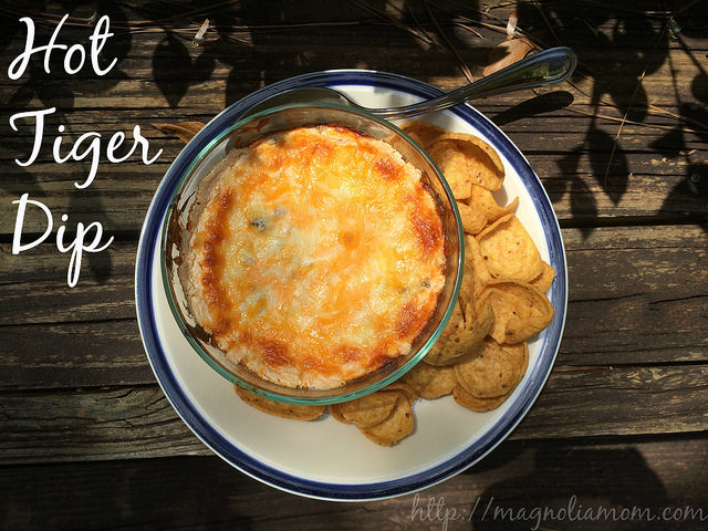 {Tailgate Tuesday} Hot Tiger Dip