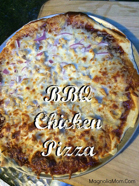 This BBQ Chicken Pizza is amazing!  A must try!