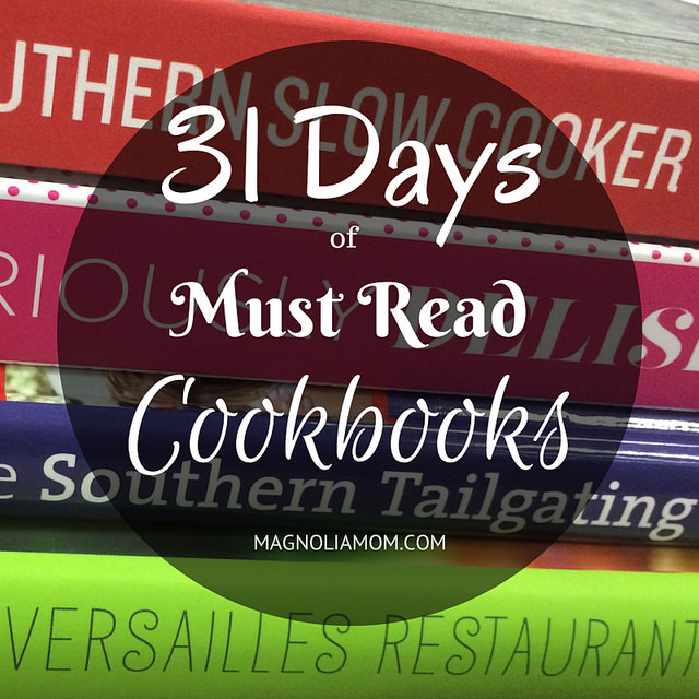 31 Days Of Must Read Cookbooks