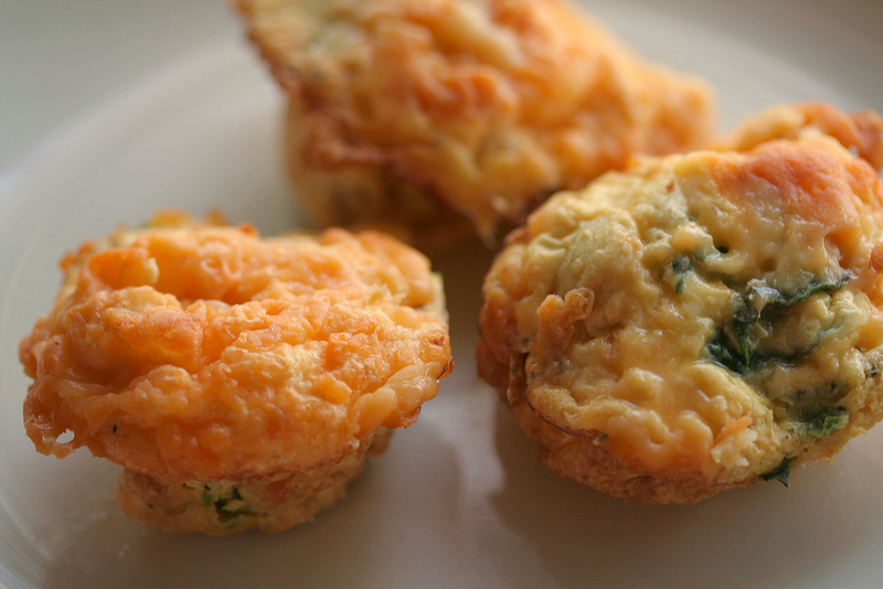Egg, Ham, & Spinach Muffin Recipe